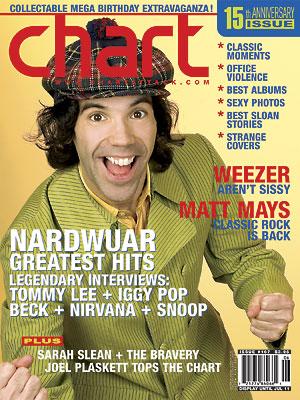 Chart Magazine Cover